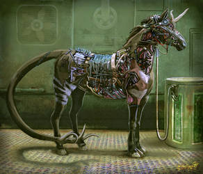 Faithful genomodded steed by Scorpion451