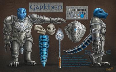 Garkhen Character Ref by Scorpion451