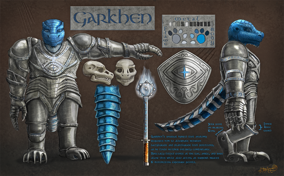 Garkhen Character Ref