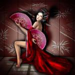 Geisha's Dance - SimsArt
