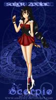 Sailor Zodiac Scorpio by Andymy
