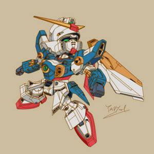 [Cel Shade] SD - Wing Gundam