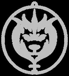 RWBY Emblem - Silver Belladonna