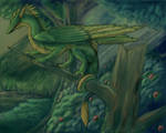 Dragon on Tree