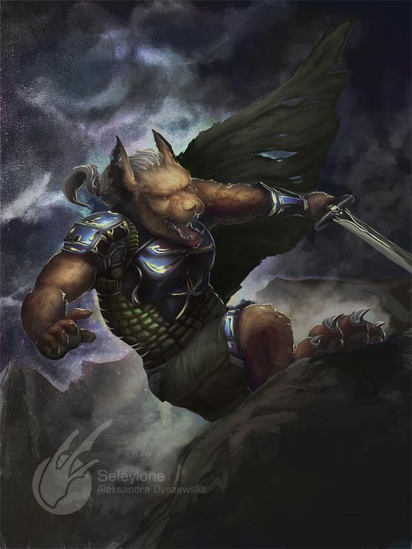 Wolf Warrior by Seleylone