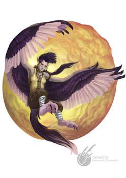 Commission: Harpy