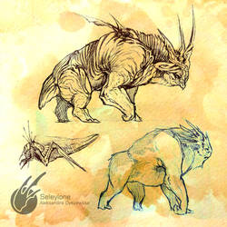 Creature Sketches 2