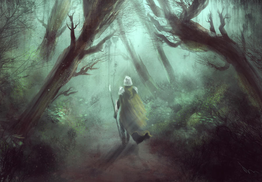 The Narmet forest by Nahelus