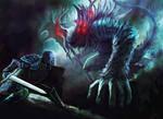 Manus father of the abyss (Dark souls fan art)