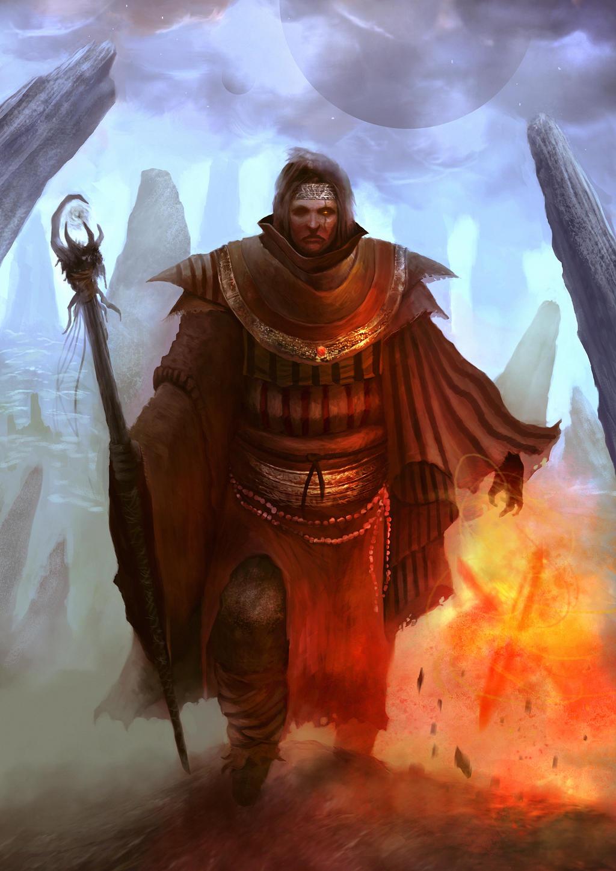 Pyromancer by Nahelus