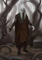 Dark Elf Thief by Nahelus