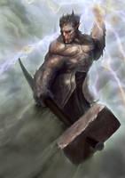 Demon personal concept by Nahelus