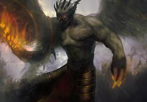 Shapeshifter igniter demon by Nahelus