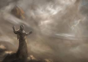 Storm in Arrakis by Nahelus