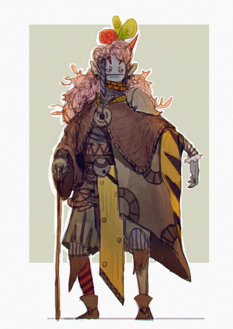 Lady by Nahelus