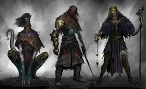 Random characters by Nahelus