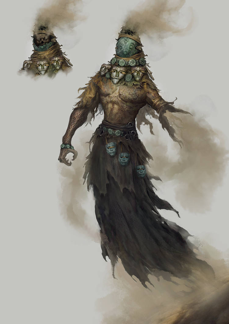 Daeva the rejected god by Nahelus