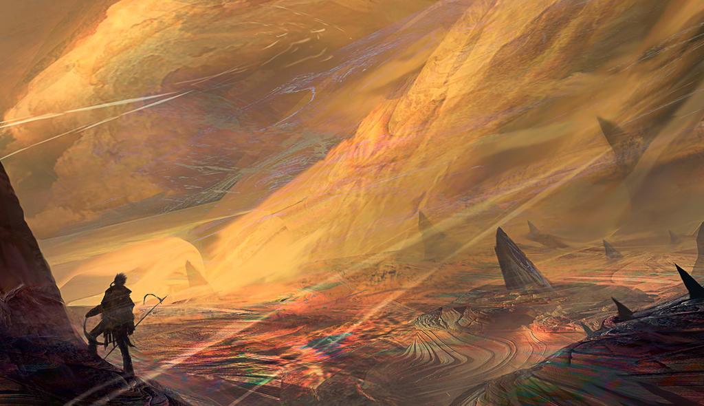 Arrakis by Nahelus