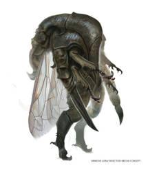 Insectoid mecha