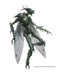 Insectoid mecha 02