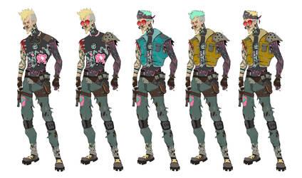 Cyberpunk character exploration