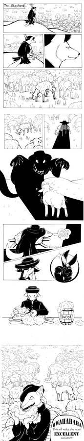 The Shepherd -comic-
