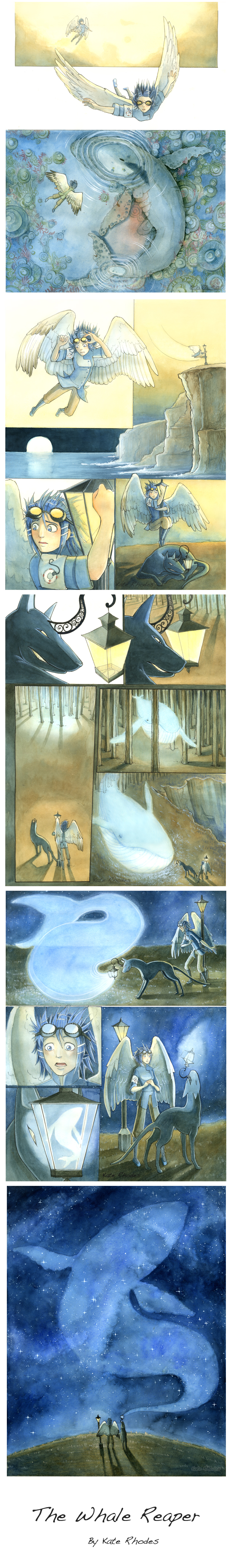 The Whale Reaper Comic by Musical-Wolf