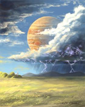 Jupiter Thunderstorm