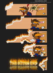 The Burning Comic Strip by Poila-Invictiwerks