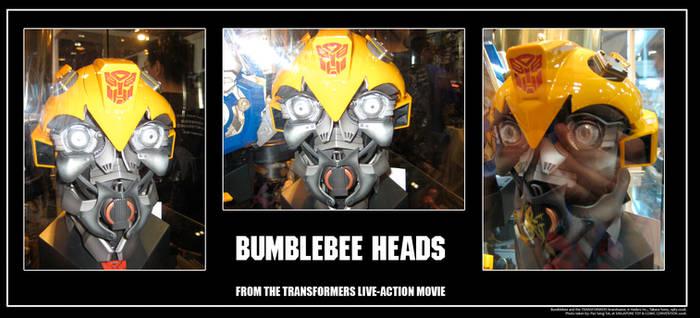 Bumblebee Heads