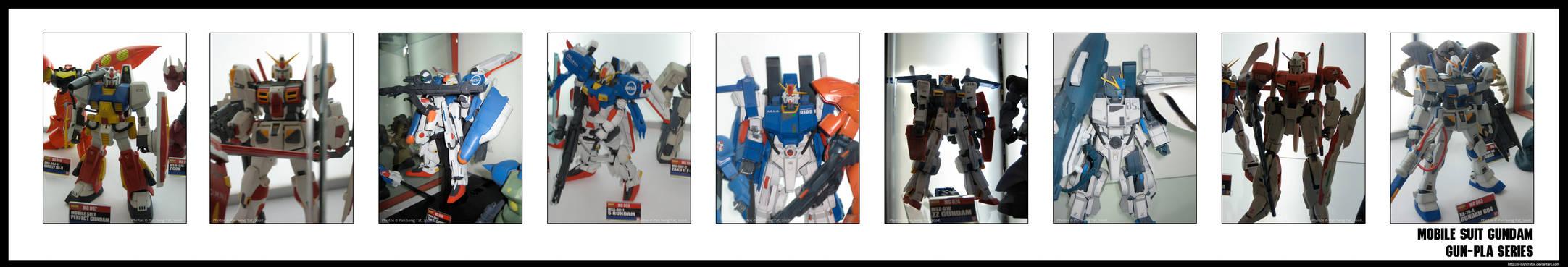 Gundam GUN-PLA Series