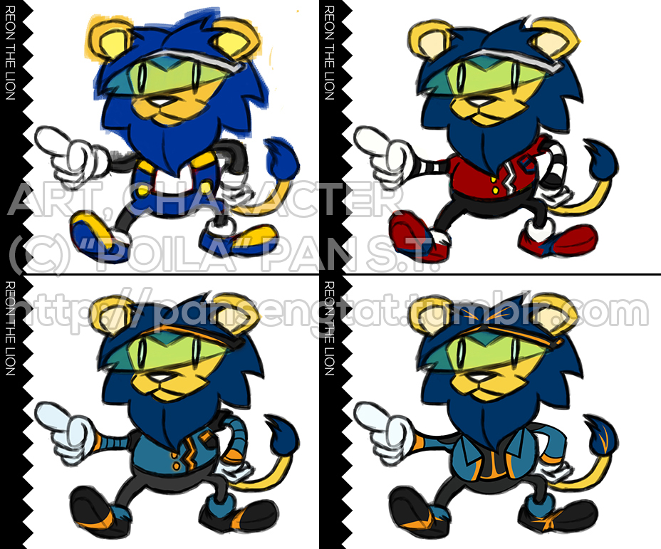 Reon The Lion (Sonic OC Parody) by Poila-Invictiwerks