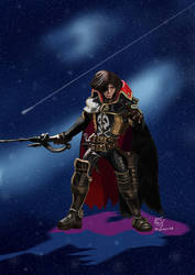 Art-vs-Artist 2018 04 - Harlock by Poila-Invictiwerks