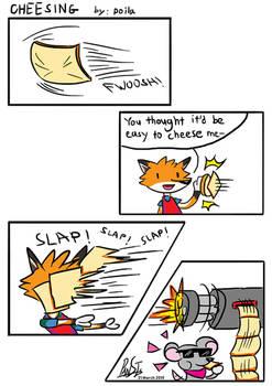 Comic - Cheesing