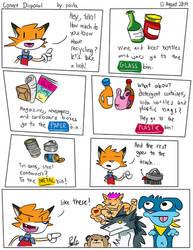 Comic - Correct Disposal