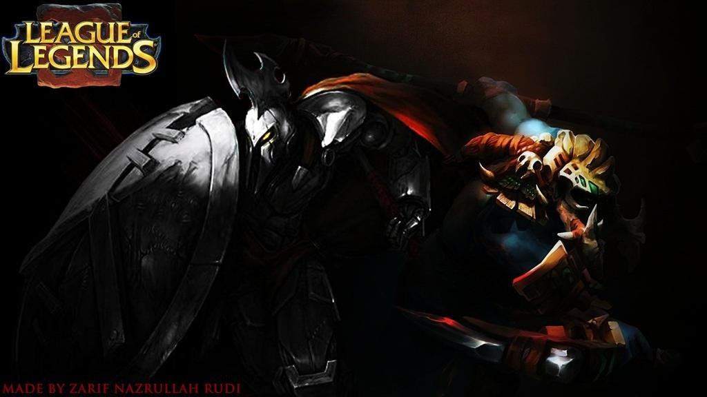 League Of Legends Wallpaper Full Metal Pantheon Lol W