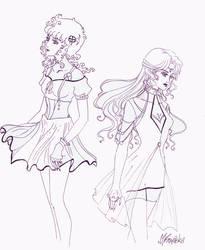 szkic_2_megu-chan by V-chanek