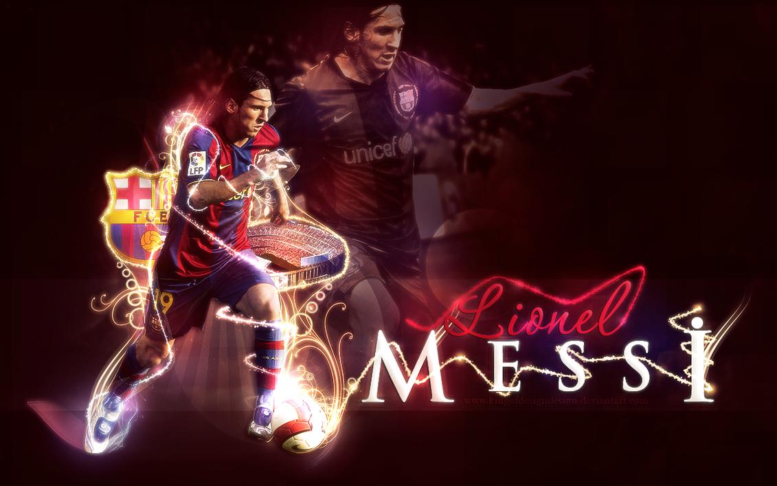 Lionel Messi Wallpaper By Kingofdesigndesign ...