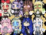 [O 8/8] Lolita demons adopts (price lowered!) by rinaiyo