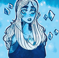 The radiant Blue Diamond~ by Amaide