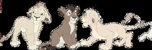 TLK Lion Adopts [SOLD]