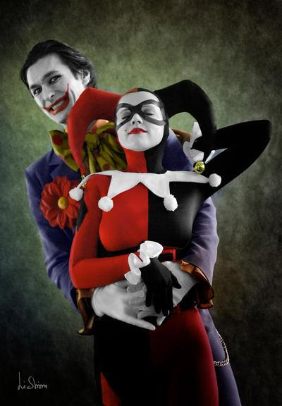 Joker and Harley Quinn by spilgrym