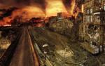 post apocalyptic Edinburgh