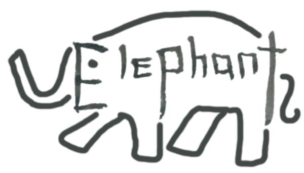 Elephant by okamitsuki