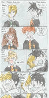 Harry Potter Doujinshi remade by okamitsuki