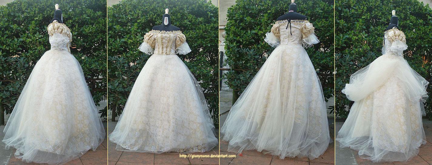 Kaiserin Elisabeth - full dress - Takarazuka by giusynuno