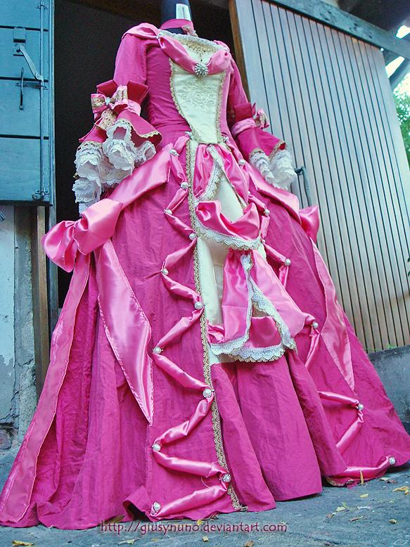 Marguerite ballgown- Takarazuka Scarlet Pimpernel by giusynuno