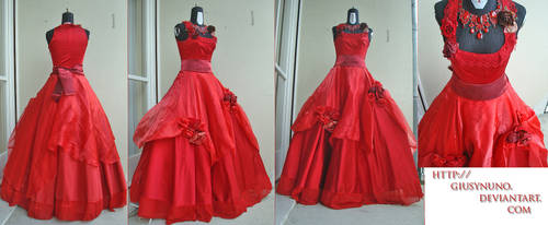 Tanz der Vampire - Sarah's ballgown by giusynuno