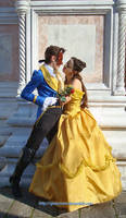 Disney Masquerade's Beauty and the Beast -fullview by giusynuno