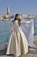 Kaiserin Elisabeth's coronation gown - Takarazuka by giusynuno